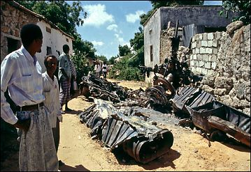 Somalia, 1994. Photo © Theodore Liasi