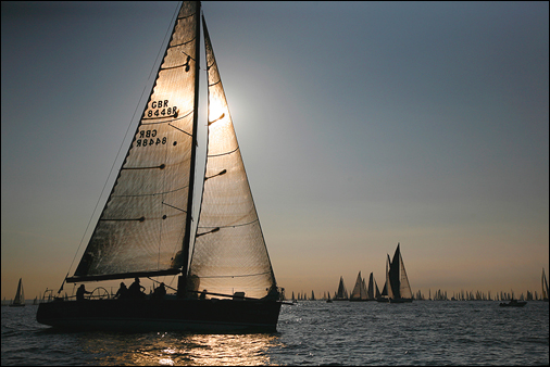 Round the Island yacht race. Photo © Patrick Eden